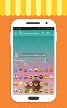 Delta BBM cute theme 2017 apk screenshot
