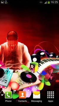 DJ Live Wallpaper apk screenshot