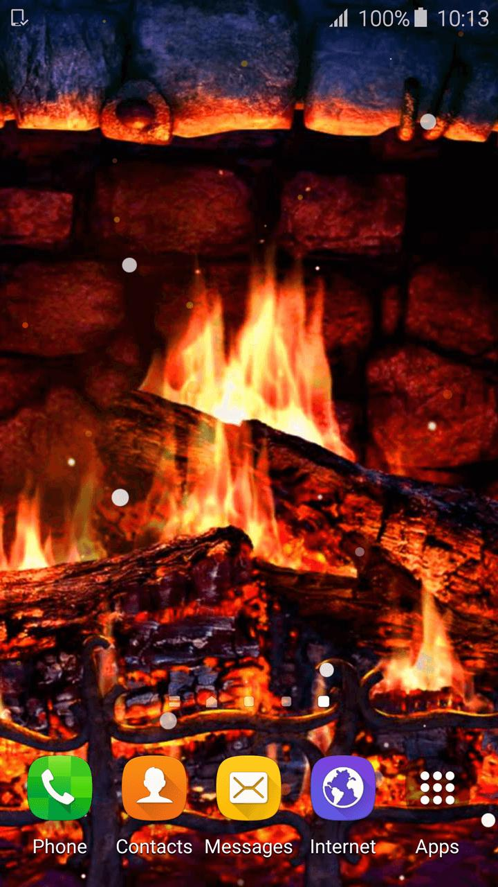 Awe Inspiring Fireplace Wallpaper 3D Hd For Android Apk Download Download Free Architecture Designs Lukepmadebymaigaardcom