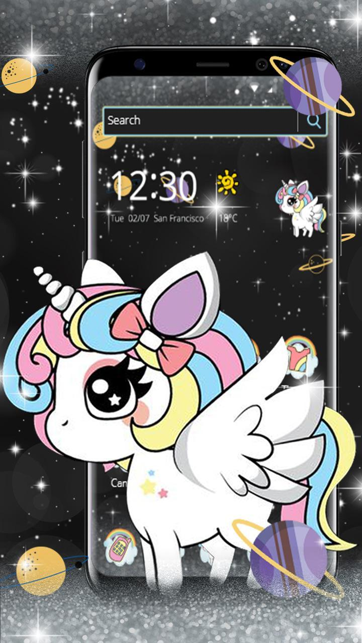 Tema Unicorn Pony Lucu For Android Apk Download