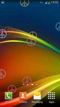 Peace Signs Live Wallpaper screenshot 4