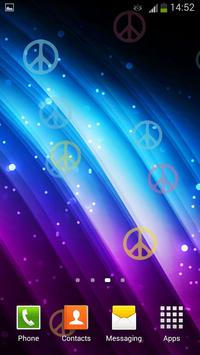 Peace Signs Live Wallpaper screenshot 5