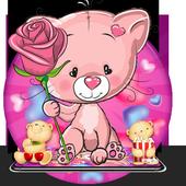 Cute Pink Bear Theme icon