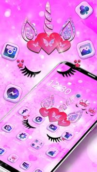 Cute pink unicorn screenshot 9