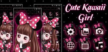 Cute Pink Girl Theme