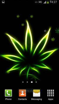 Rasta Weed Live Wallpaper apk screenshot