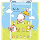 APK Cute Rabbit Cartoon Theme