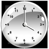 Transparent Clock Widget icon