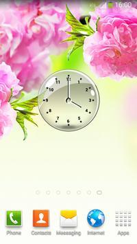 Transparent Clock Widget apk screenshot