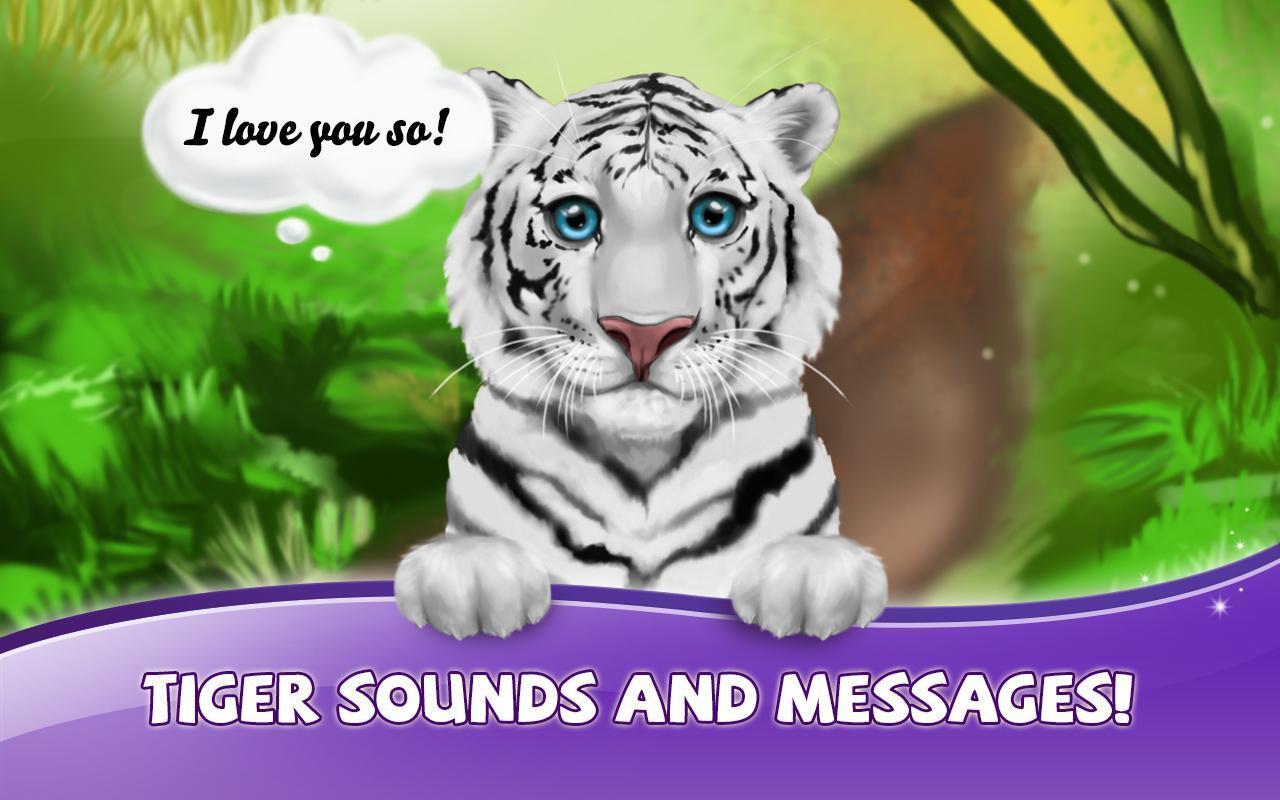 Tigre Branco Papel De Parede Para Android Apk Baixar