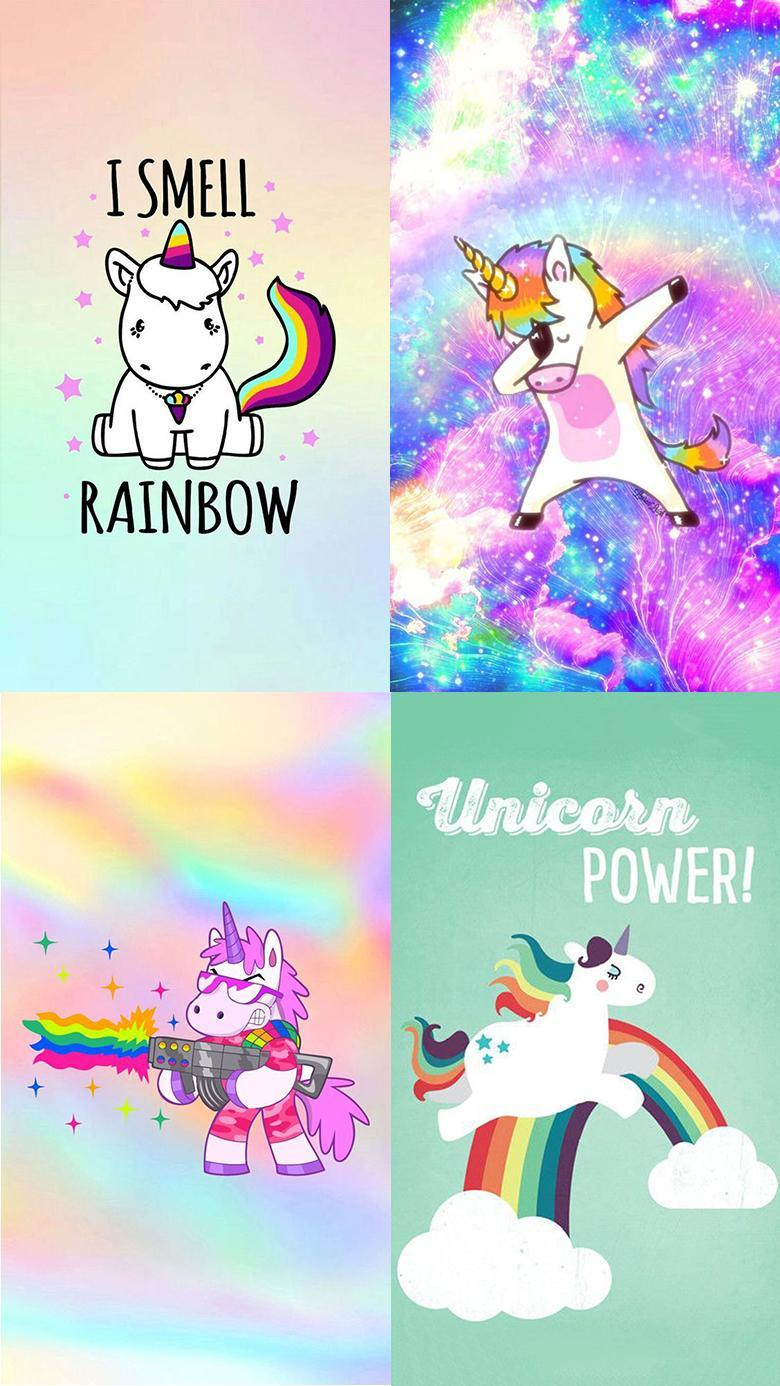 Cute Kawaii Wallpaper Cool Unicorn Backgrounds For Android Apk Download