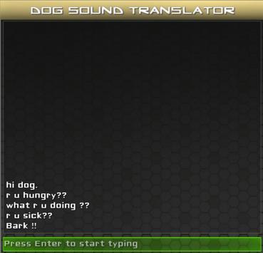 Dog Sound Translator apk screenshot