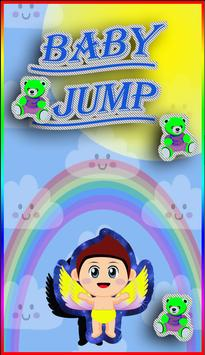 Cute Baby Jump poster