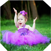 Cute baby gallery hd icon