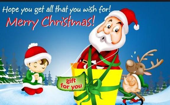 Cute Christmas Captions apk screenshot