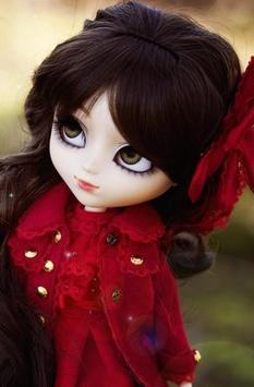 Cute Doll Wallpaper HD poster