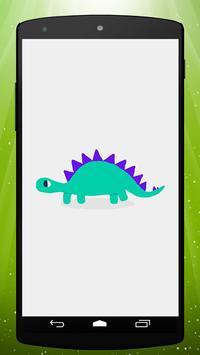 Cute Dinosaur Live Wallpaper poster