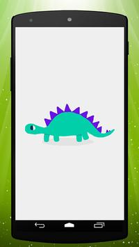 Cute Dinosaur Live Wallpaper screenshot 3