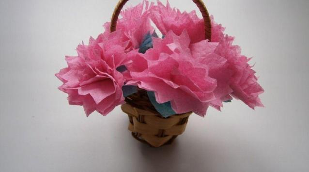 Cute DIY Flower Craft poster