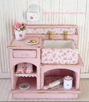 Cute Dollhouse Furniture poster