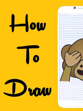 How To Draw Emojis poster