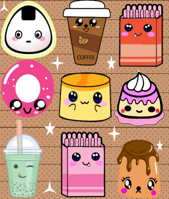 Cute food wallpaper for android apk download - Kawaii food wallpaper ...