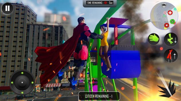 Flying Superhero Rope Power screenshot 5