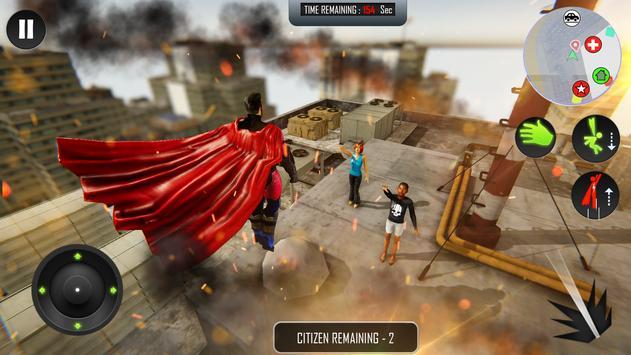 Flying Superhero Rope Power screenshot 10