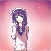 Cute Girl Anime Wallpaper icon