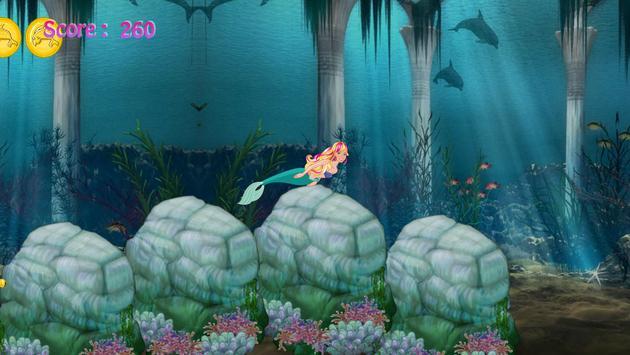 Strawberry Mermaid Adventure screenshot 1