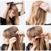 Cute Hair Style Tutorials icon