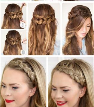 Cute Hair Style Tutorials apk screenshot