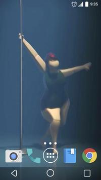 Pole dance 3D Live Wallpaper poster