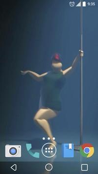 Pole dance 3D Live Wallpaper apk screenshot