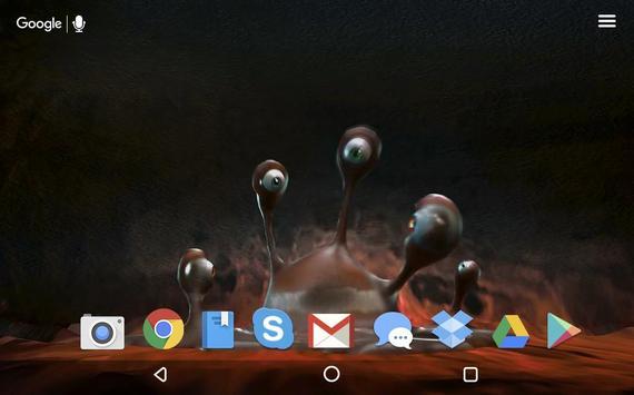 Telephone Monster Live WP apk screenshot