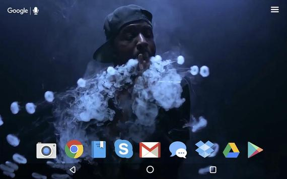 ... Vape Smoke Video Wallpaper screenshot 4 ...