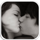 Cute Couple Kiss Wallpaper icon
