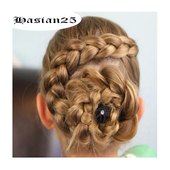 cute little girl hairstyles icon