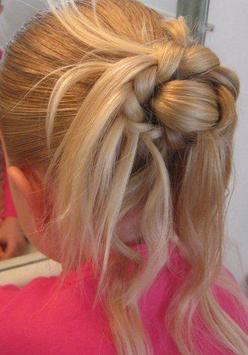 cute little girl hairstyles poster