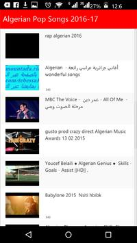 Algerian Top Songs 2016 poster