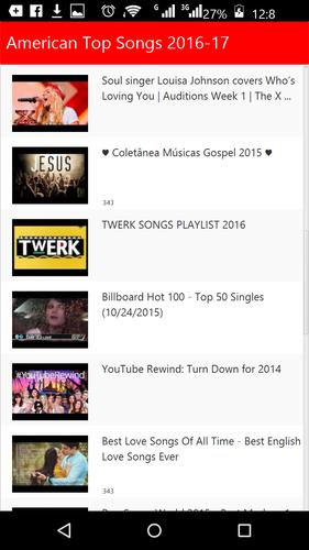 American Pop Songs 2016 for Android - APK Download