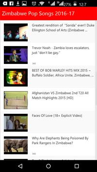 Zimbabwe New Songs 2016 apk screenshot