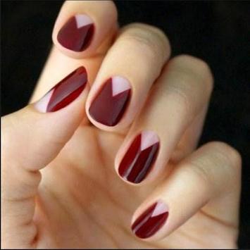 cute fingernail design poster