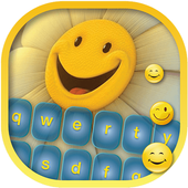 Cute Pics Keyboard with Smiley icon