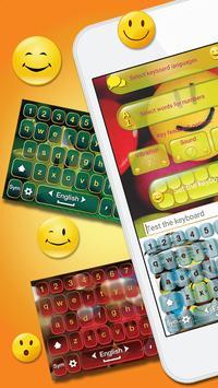 Cute Pics Keyboard with Smiley screenshot 1