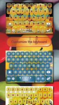 Cute Pics Keyboard with Smiley apk screenshot