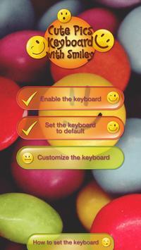 Cute Pics Keyboard with Smiley screenshot 4