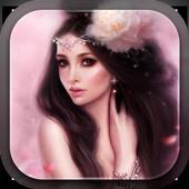 Cute Princess Live Wallpaper icon