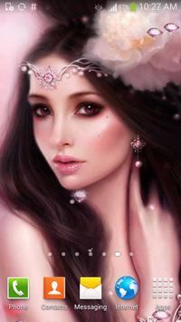Cute Princess Live Wallpaper poster