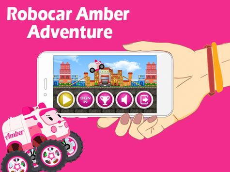 Cute Robocar Amber Game apk screenshot